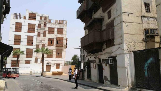 Bangunan bersejarah di kawasan Al Balad Jeddah