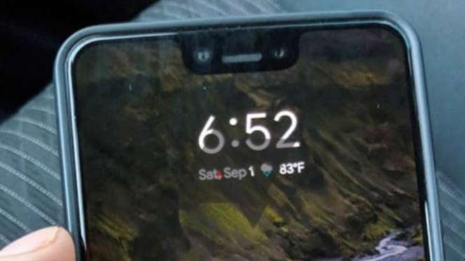 Google Pixel 3XL.