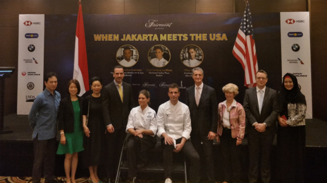 Press conference When Jakarta Meets The USA.
