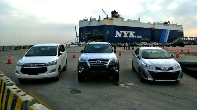Ekspor mobil Toyota