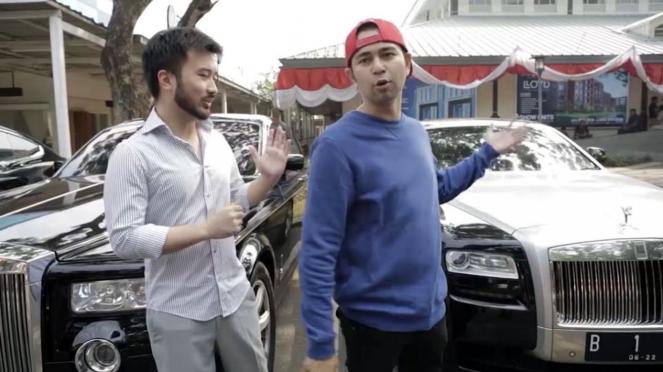 Raffi Ahmad dan Rudy Salim