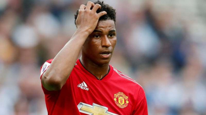 Penyerang Manchester United, Marcus Rashford