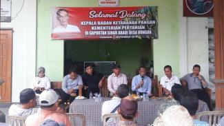 Kepala Badan Ketahanan Pangan (BKP) Kementerian Pertanian Agung Hendriadi