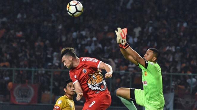 Pertandingan uji coba Persija vs Selangor FA