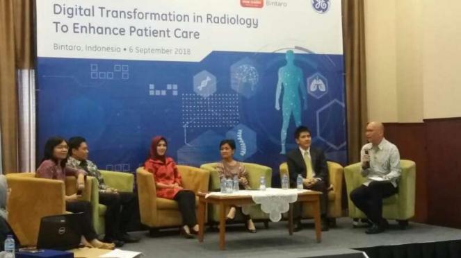 Talkshow Digitalisasi Radiologi di RS Bintaro