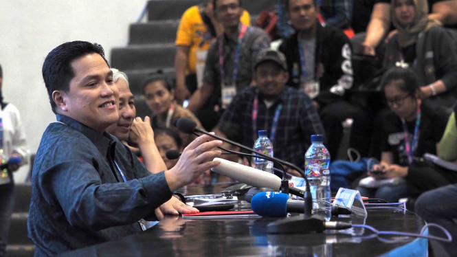 Erick Thohir Ragu Sandiaga Bisa Rebut Emak-emak Dari Jokowi