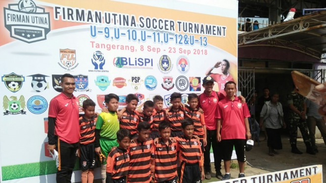 Peserta Firman Utina Soccer Tournament