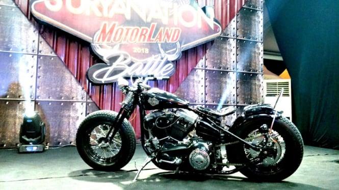 Motor custom peraih juara regional Makassar