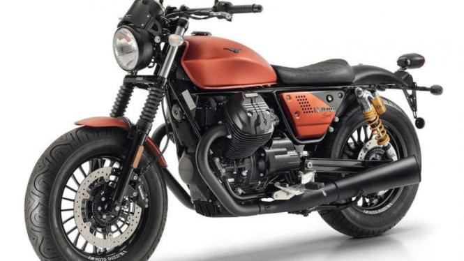 Moto Guzzi V9 Bobber.