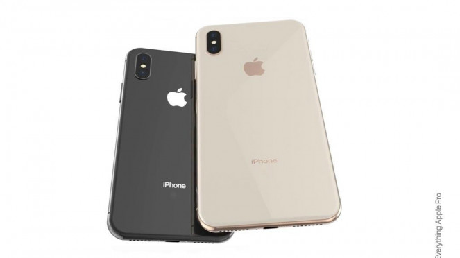 Bocoran tampang iPhone XS