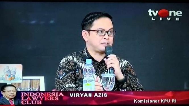 Viryan Azis Komisioner KPU