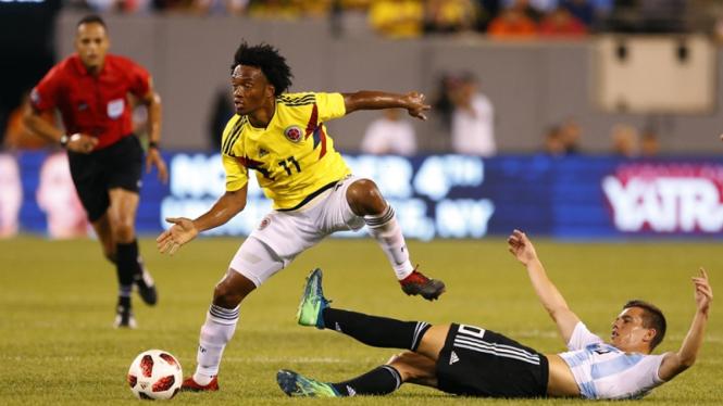 Pertandingan uji coba Timnas Argentina vs Kolombia