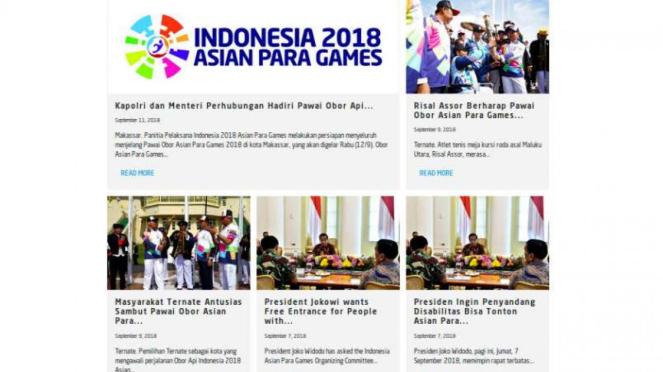 Asian Para Games 2018.