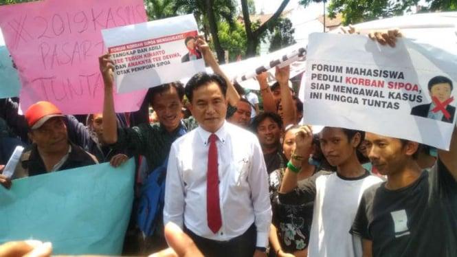 Yusril Kritik Koalisi Prabowo-sandi