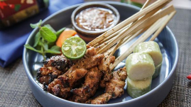 Satai ayam sambal koja ala chef Heri Purnama