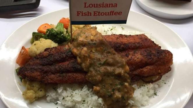 Lousiana Fish Etouffe