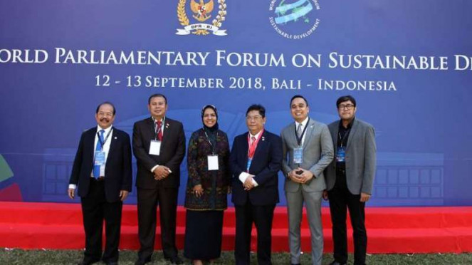 World Parlimantary Forum on Sustainable di Bali