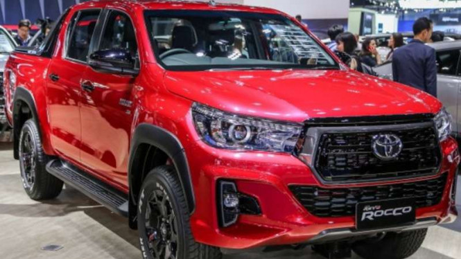 Toyota Hilux Revo.