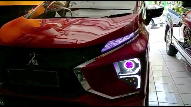 Modifikasi lampu Mitsubishi Xpander