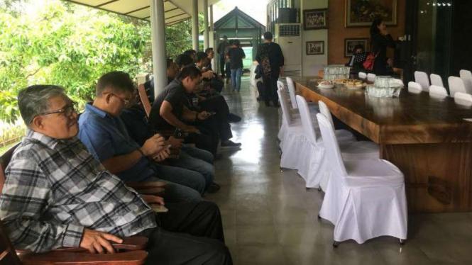 Rumah duka Riama Nababan Purba di Pondok Jaya, Pondok Aren, Tangerang Selatan, Banten, pada Kamis, 13 September 2018.