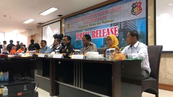 Bareskrim Polri bongkar komplotan perdagangan manusia ke Malaysia