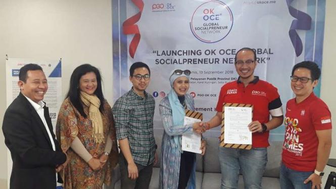 Perkumpulan gerakan OK OCE mulai go Internasional
