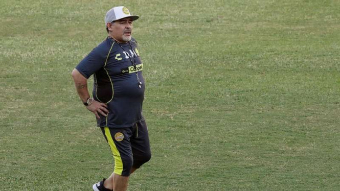 Pelatih Dorados de Sinaloa Diego Armando Maradona