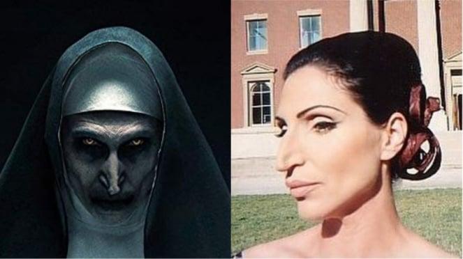 Bonnie Aarons di film The Nun