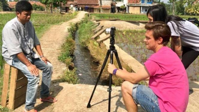 Visit Cianjur to Make a Film