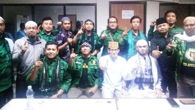 Ormas GKP Khittah Yogyakarta menyatakan dukungan pada cawapres Sandiaga Uno