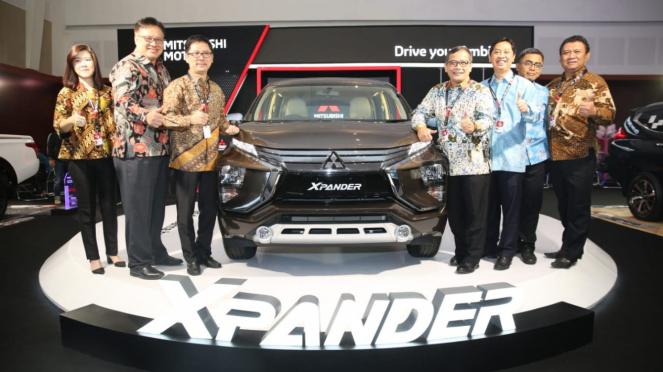 Peluncuran Xpander versi Sport MT dan GLS AT di Surabaya