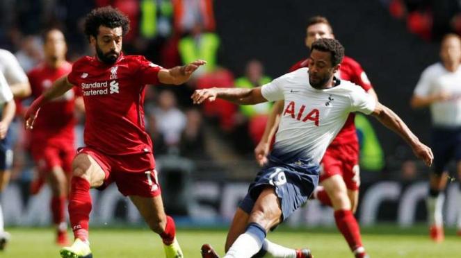 Pertandingan Tottenham Hotspur melawan Liverpool di ajang Premier League