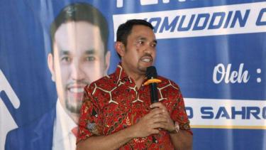 Anggota komisi III DPR RI Ahmad Sahroni