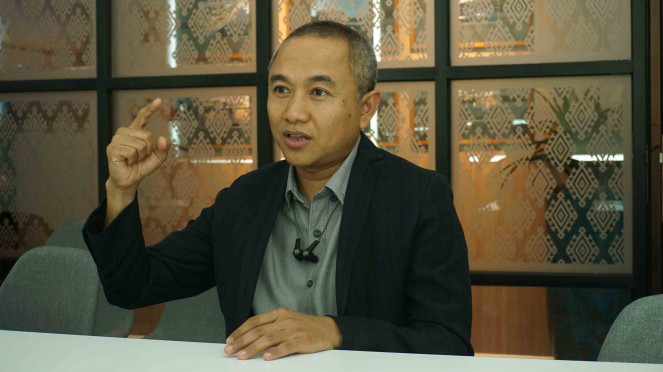Presiden Direktur PT Indonesia Ferry Property (PT IFPRO) M Riza Perdana Kusuma