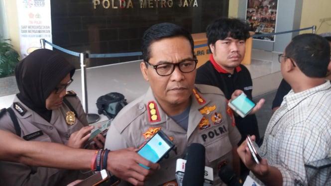 Kepala Bidang Hubungan Masyarakat Polda Metro Jaya, Komisaris Besar Polisi Argo