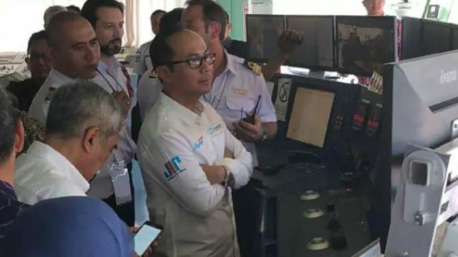 Peresmian proyek kabel laut Jayabaya