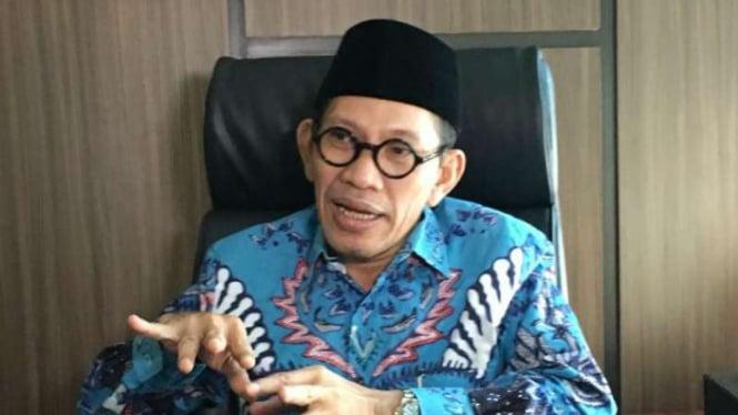 Robikin Emhas, Ketua Bidang Hukum dan Konstitusi Pengurus Besar NU.