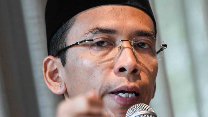 Mantan Gubernur Nusa Tenggara Barat (NTB) Tuan Guru Bajang (TGB) Muhammad Zainul