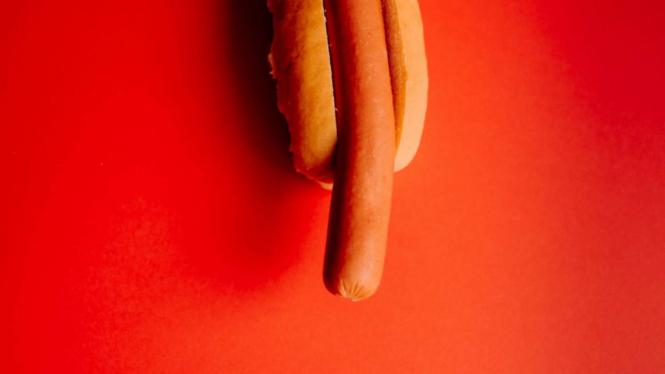 Ilustrasi penis.