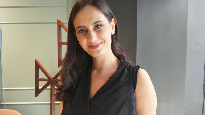 Aktris dan presenter Marissa Nasution.