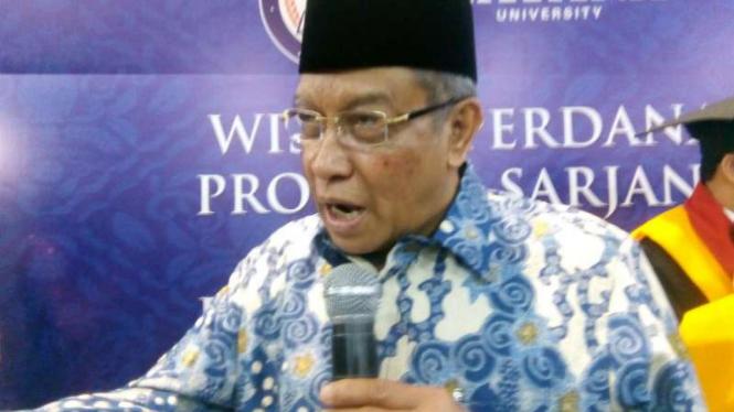 Ketua Pengurus Besar Nahdlatul Ulama (PBNU), KH. Said Aqil Siroj