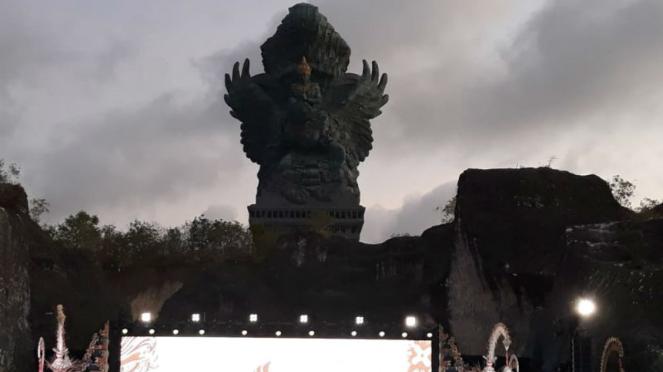 patung Garuda Wisnu Kencana (GWK) di Bali