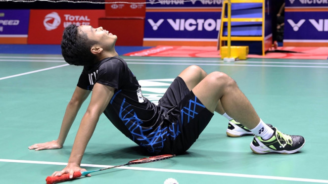 Pebulutangkis tunggal putra Indonesia, Anthony Sinisuka Ginting