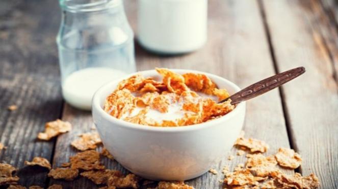 Ilustrasi oatmeal.