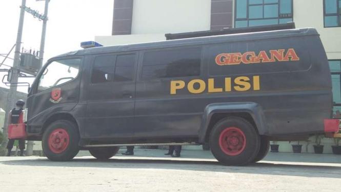 Mobil tim Gegana (foto ilustrasi)