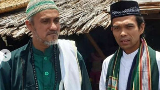 Ustaz Abdul Somad berkunjung ke Palu.