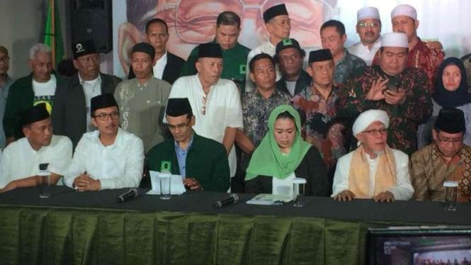 Yenny Wahid mendukung pasangan Jokowi-Ma'ruf Amin di Pilpres 2019.