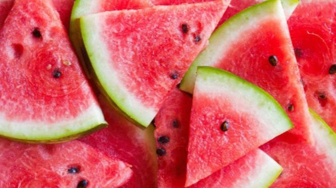 Ilustrasi semangka.