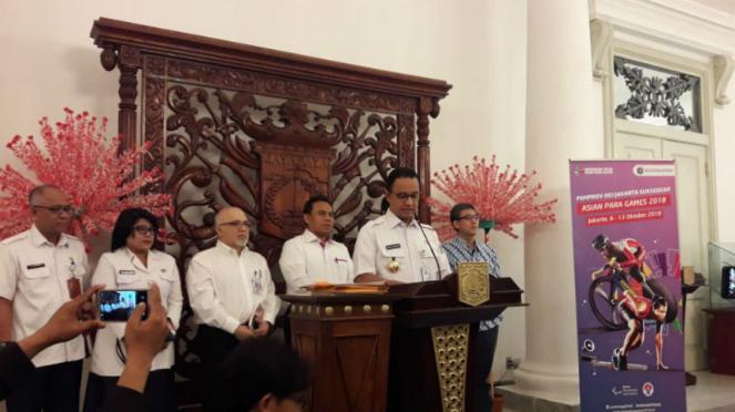 Gubernur DKI Jakarta Anies Baswedan hentikan reklamasi teluk Jakarta