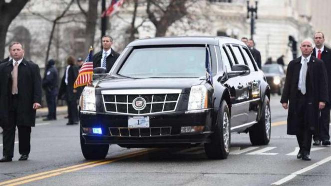 Mobil Kepresidenan Amerika Serikat, The Beast